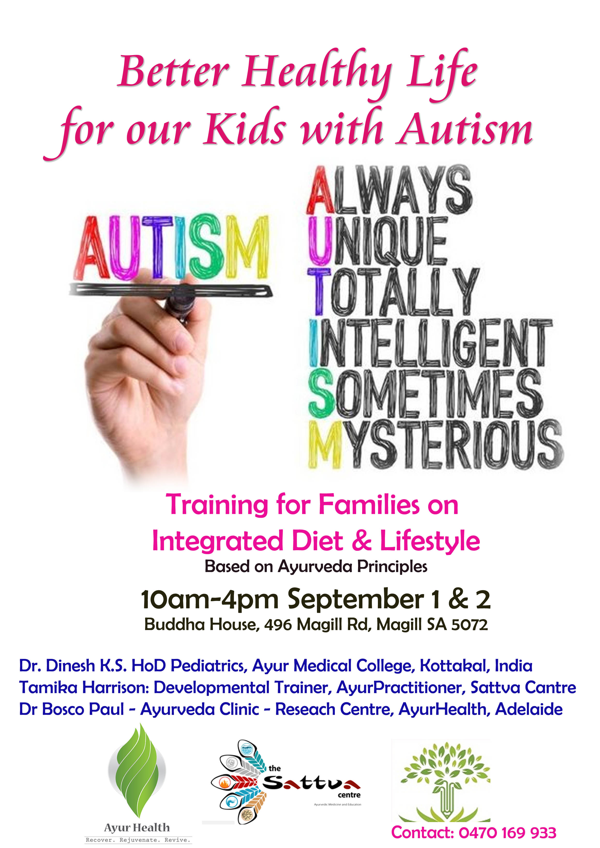 Ayurveda Training for Kids with Autism